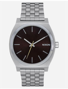 Nixon Time Teller Dark Cedar Watch by Nixon