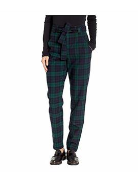 Tartan Belted Trousers by Pendleton