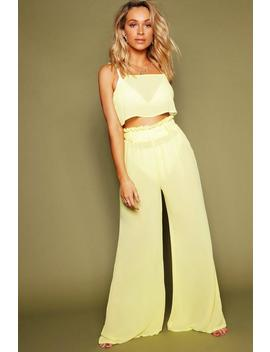 Paper Bag Trouser Beach Coord by Boohoo