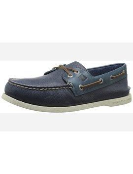 Sperry Top Sider Men's A/O Two Eye Cross Lace Boat Shoe by Sperry