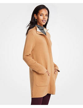 "<A Href=""Https://Www.Anntaylor.Com/Mock Neck Coatigan/471908?Sku Id=26098449&Default Color=7317&Default Size=902&Price Sort=Desc"" Tabindex=""0"" Data Di Id=""Di Id C4c4d7ee 4c71bf6a"">Mock Neck Coatigan</A> by Ann Taylor"