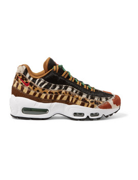 Air Max 95 Animal Pack 2.0 Calf Hair Sneakers by Nike
