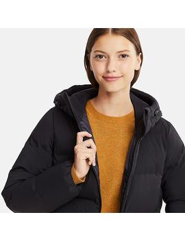 Damen Seamless Down Parka by Uniqlo