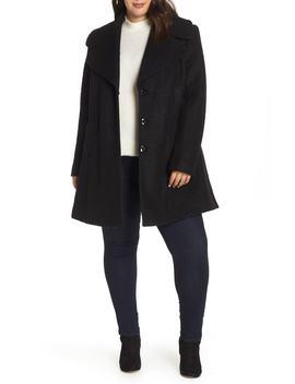 Oversize Collar Coat by Kensie