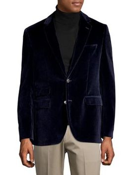 Jeffrey Velvet Suit Jacket by Hugo Boss