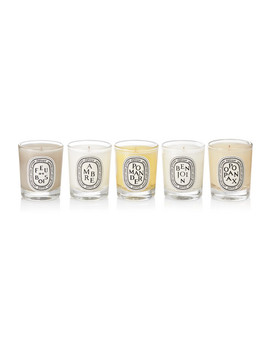 Feu De Bois, Ambre, Pomander, Benjoin And Opopanax Set Of Five Scented Candles, 5 X 35g by Diptyque