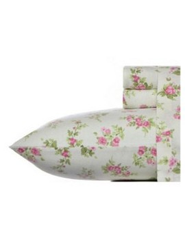 Laura Ashley Audrey Flannel Sheet Set   Pink by Laura Ashley