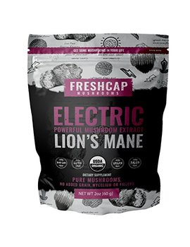 Electric   Lion's Mane Mushroom Extract Powder   Usda Organic  60 G  Supplement   Mental Clarity And Focus   Add To... by Fresh Cap Mushrooms