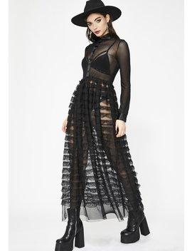 Witchy Wonder Ruffled Maxi Dress by Rehab