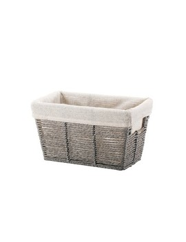 Twisted Paper Rope Small Tapered Basket Gray   Threshold™ by Threshold