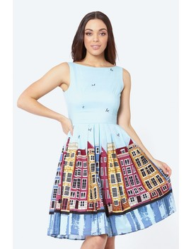 Down By The Canal Dress by Dangerfield