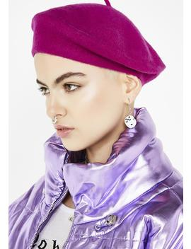 Freak Le Chic Wool Beret by Olive Pique