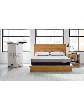 Rivet Queen Mattress – Celliant Cover, Responsive 3 Layer Memory Foam For Support And Better Overnight Recovery, Bed In A Box, 100 Night Trial by Rivet
