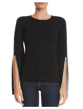 Got To Split Slit Sleeve Sweater by Bailey 44