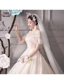 Mss Bridal   Met Korte Mouwen Baljurk Lace by Mss Bridal
