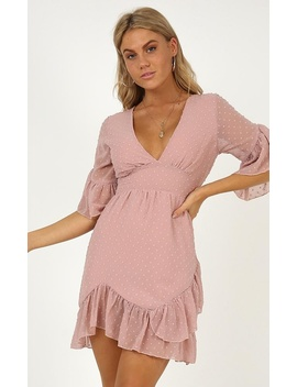 Faded Love Dress In Blush by Showpo Fashion