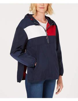 Colorblock Pullover Raincoat by Colorblock Pullover Raincoat