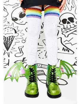 Kids Pet Dragon Combat Boots by Current Mood