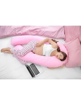 9ft U Shaped Pillow   Total Body Comfort Ideal For Pregnancy & Maternity Use by Ebay Seller