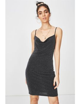 Luxe Cowl Neck Mini Dress by Supre