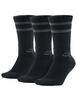 Men's Nike 3 Pack Dri Fit Skateboard Performance Crew Socks by Kohl's