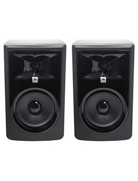 "(2) Jbl 306 P Mk Ii 6"" 2 Way Powered Studio Reference Monitors Monitoring Speakers by Jbl"
