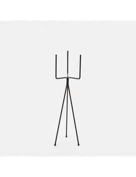 Low Plant Stand   Black by Ferm Living
