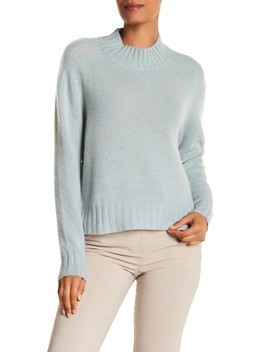 Delanie High Neck Cashmere Sweater by 360 Cashmere