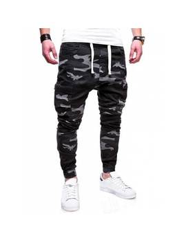"<P>Drawstring Camouflage Multi Pocket Pants</P><I Class=""Icon Down Js Tap Up Down""></I> by Dress Lily"