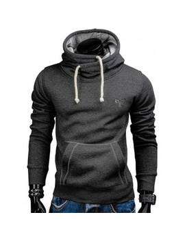 "<P>Whole Colored Drawstring Casual Hoodie</P><I Class=""Icon Down Js Tap Up Down""></I> by Dress Lily"