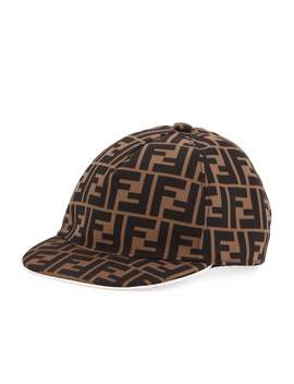 Kids' Ff Print Baseball Cap by Fendi