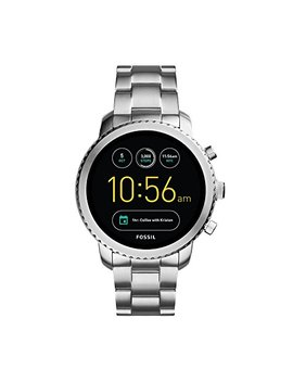 Fossil Q Men's Gen 3 Explorist Stainless Steel Smartwatch, Color: Silver Tone (Model: Ftw4000) by Fossil