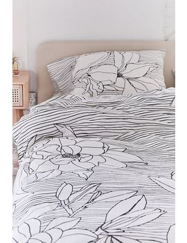 Magnolia Duvet Cover Set by Urban Outfitters