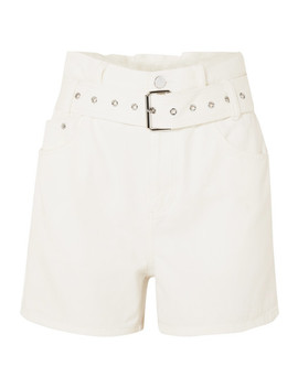 Belted Denim Shorts by 3.1 Phillip Lim