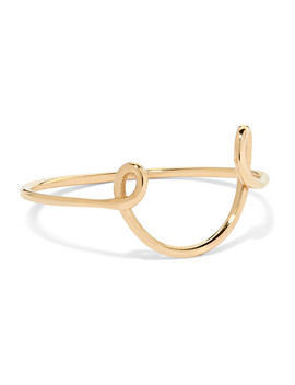 Two Whirl 9 Karat Gold Ring by Sarah & Sebastian