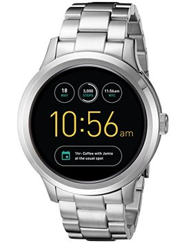 Fossil Q Founder Gen 1 Touchscreen Silver Smartwatch by Fossil