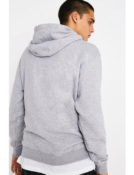 Tommy Jeans Small Logo Grey Hoodie by Tommy Jeans