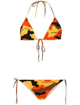 Camouflage Bikini by Off White