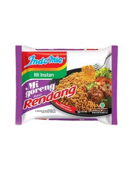 New 1pcs Indomie Mi Goreng Instant Noodles Traditional Flavor Indonesia  Rendang by Indomie