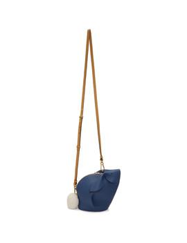 Blue Mini Bunny Bag by Loewe