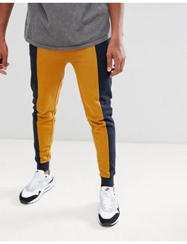 Asos Design   Pantalon De Jogging Color Block Ajusté by Asos Design