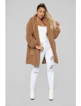 Elsie Jacket   Camel by Fashion Nova