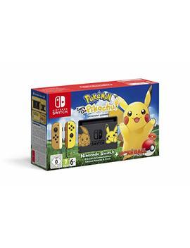 Nintendo Switch Pokémon: Let's Go, Pikachu! Bundle by Amazon