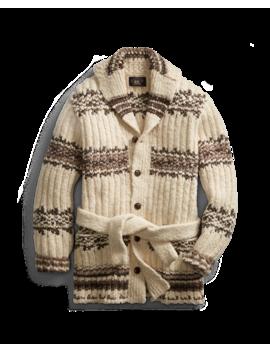 Wool Blend Ranch Cardigan by Ralph Lauren