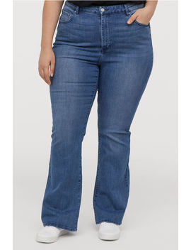 H&M+ Mini Flare High Jeans by H&M