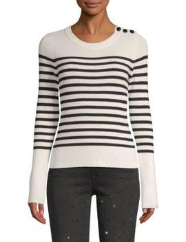 Merino Wool Stripe Sweater by Frame