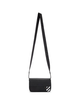 Black Crossbody Messenger Bag by Off White