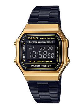 Men's Digital Black Stainless Steel Bracelet Watch 36mm by Casio