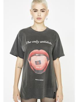 The Only Antidote Tee by Learn To Forget