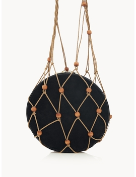 Round Net Bag   Black by Pomelo